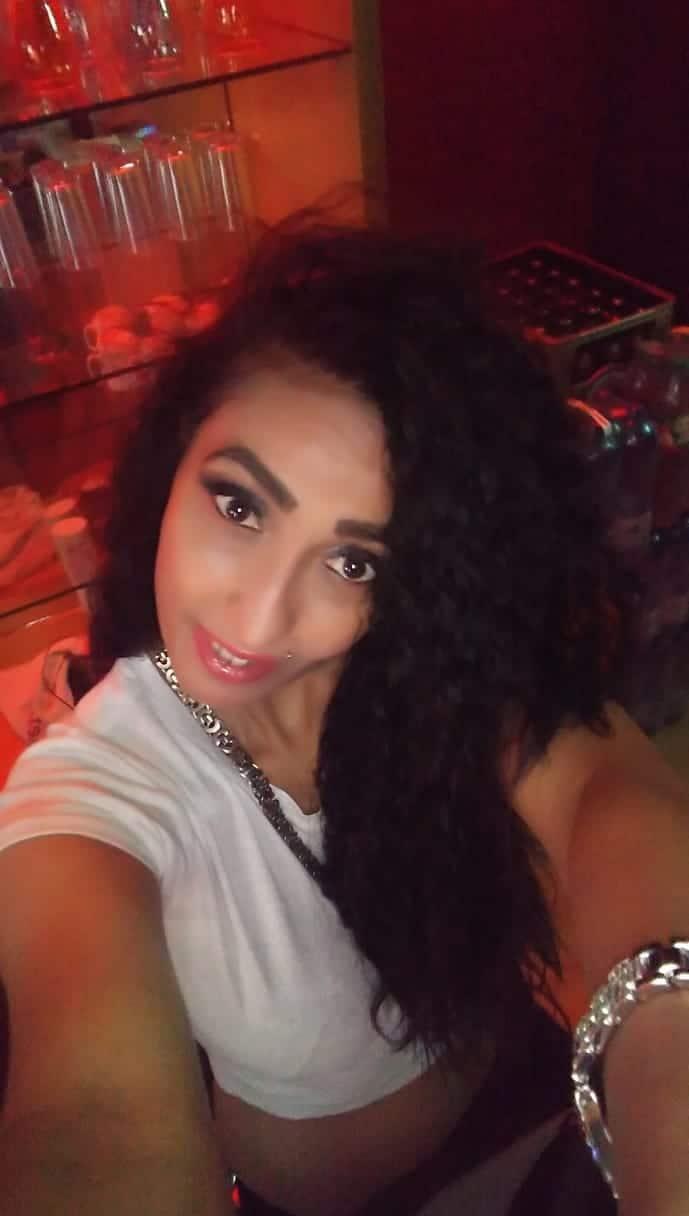 Black hair milf